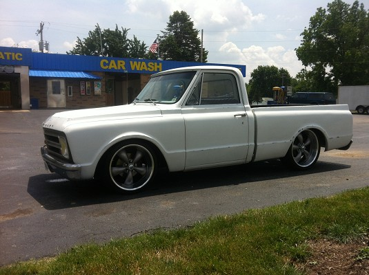 1967 Chevrolet C10 8 500 100277691 Custom Full Size