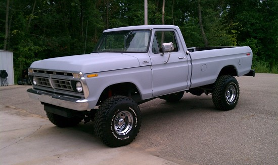 1976 ford f250 6 000 100508130 custom lifted truck. Black Bedroom Furniture Sets. Home Design Ideas