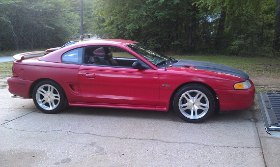 1998 ford mustang gt 1 possible trade 100484062. Black Bedroom Furniture Sets. Home Design Ideas
