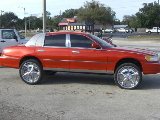 Lincoln Car Pictures Lincoln Town Car With Rims Performance Pictures