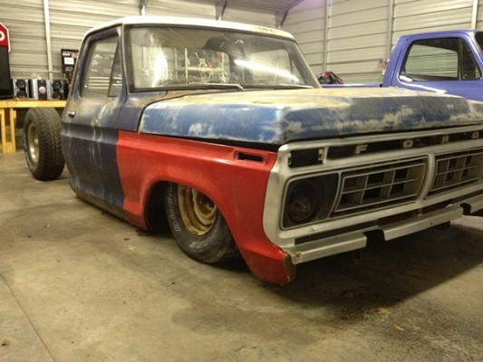 1974 Ford F100 600 Firm 100496686 Custom Project