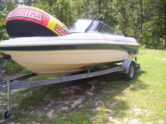 1999 1999 monterey 18ft skiboat $4,500 Possible Trade