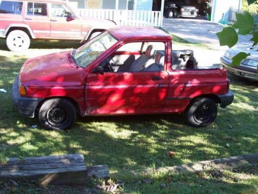 Ford Festiva For Sale >> 1992 Ford Festiva $500 or best offer - 100068696 | Custom ...