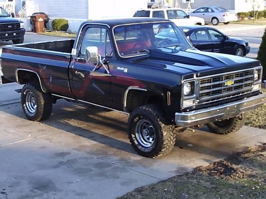 1979 chevy silverado 4x4 k20 $101,010 possible trade - 100094226