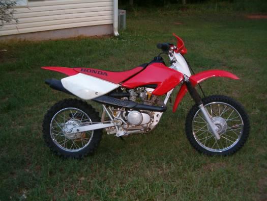 honda cc dirt bike  stroke