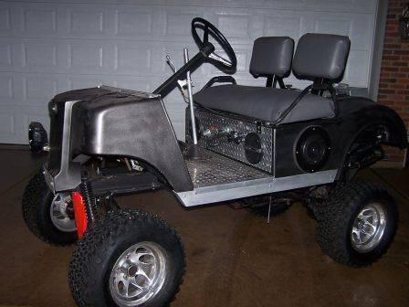 1979 Club Cart Kawasaki Ninja 250cc $600 - 100083781
