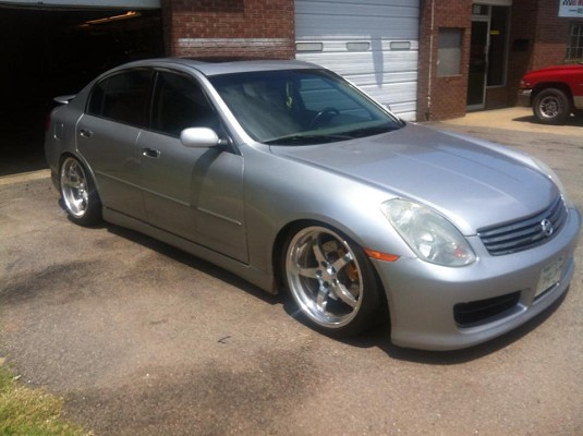 2003 Infiniti Stanced G35 Sedan On Ccws 15000 Possible Trade