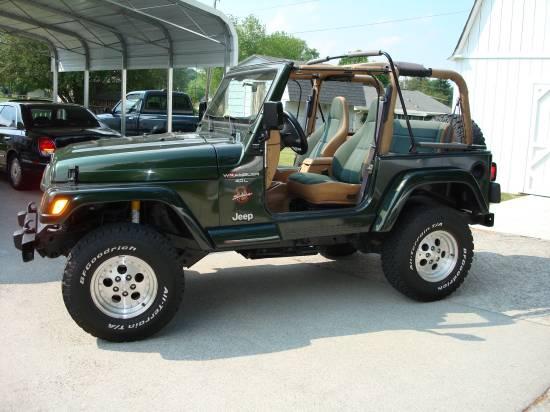 1998 jeep wrangler sahara price reduced 7 000 possible. Black Bedroom Furniture Sets. Home Design Ideas