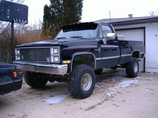 86 Chevy Truck Lifted