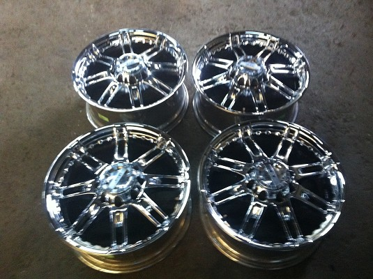 20 Quot Gear Alloy 712c Injector Chrome Plated Wheels 850 Or
