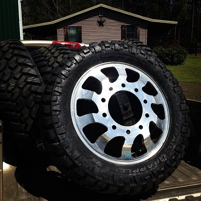 Custom Cut 24in Dually Wheels Nitto M Ts 9 000 Or Best Offer