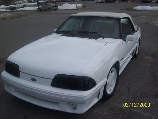 1989 Mustang Cobra Hp