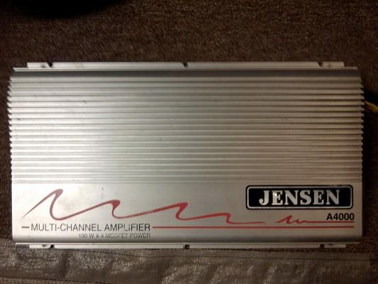 400w 4 Channel Jensen Car Audio Amp   40 Or Best Offer