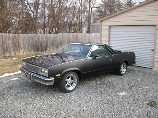 1985 Chevrolet El Camino Ss 4 500 100356900 Custom Muscle Car Classifieds Muscle Car Sales