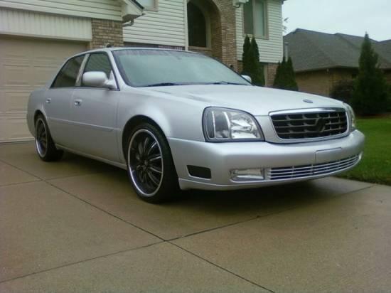 2001 Cadillac Deville Dts Trade 14190 100124800 Custom Show