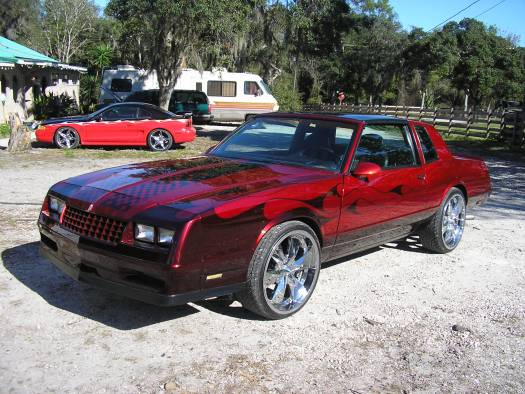 1986 Chevrolet Monte Carlo SS now on 22 s $11500 Possible trade   Custom