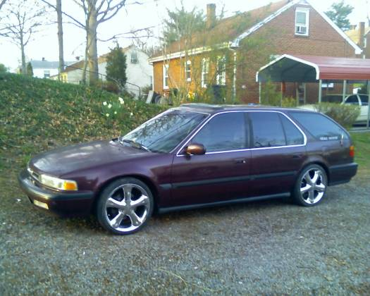 1991 Honda Accord Wagon 3500 100092646 Custom Jdm Car