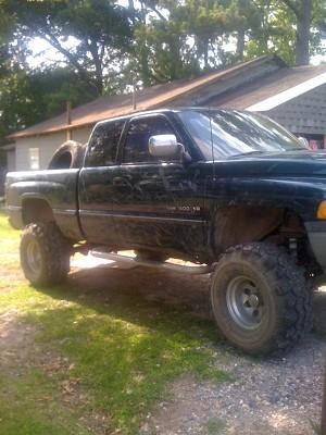 on 1997 Dodge Ram 1500 4x4 Lifted