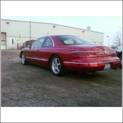 on 1996 Lincoln Mark Viii Interior