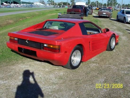 1985 Pontiac Fiero Kit Car 3000 100095421 Custom Show Car