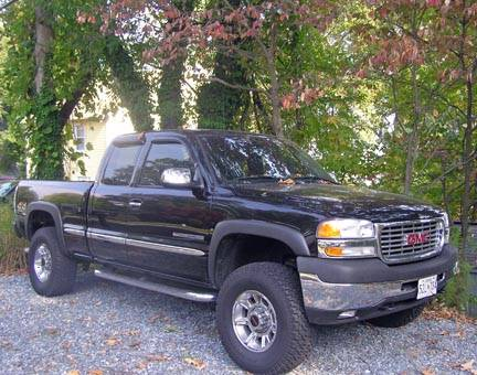 2002 Gmc Sierra 2500 Hd 4x4 8 000 100085364 Custom