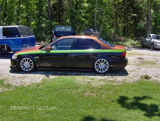 1999 Honda Civic Bagged Sale Or Trade 5800 Possible