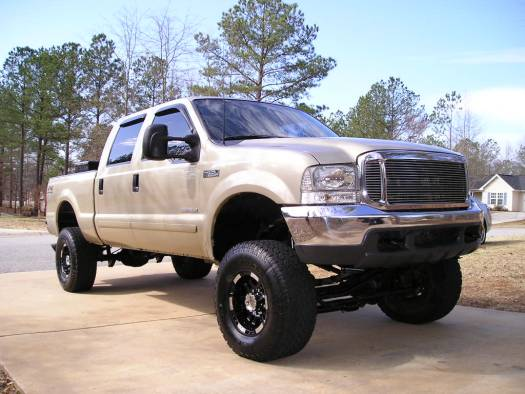 Super Duty Lifted. 2001 Ford Super Duty DIESEL