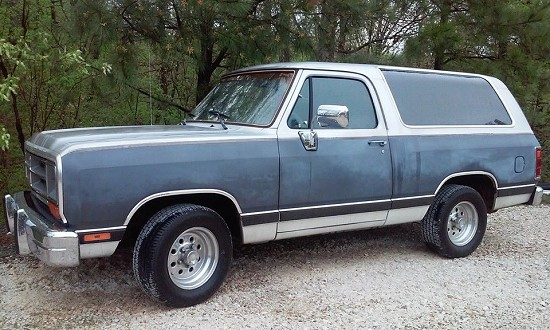 1990 Dodge Ramcharger 1 Possible Trade 100670031 Custom Full Size Truck Classifieds Full