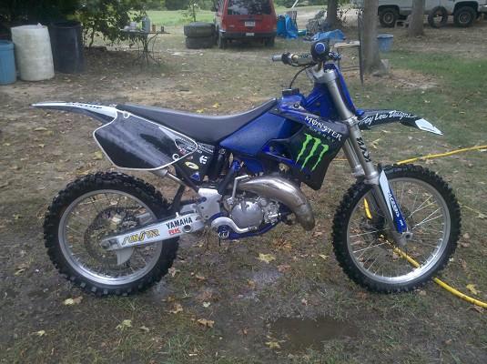 Dirt Bikes Yamaha 125 Yamaha YZ stroke