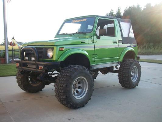 1990 Suzuki samurai $4,500 - 100241465 | Custom Lifted ...  1990 Suzuki sam...