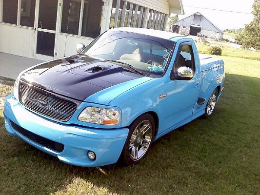 Customized Ford Lightning