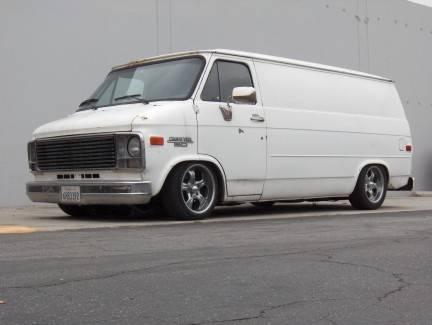 1984 chevy van g20