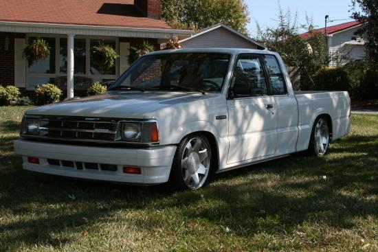 1987 Mazda B2000 $4,000 Firm - 100125679 | Custom Mini Truck ...