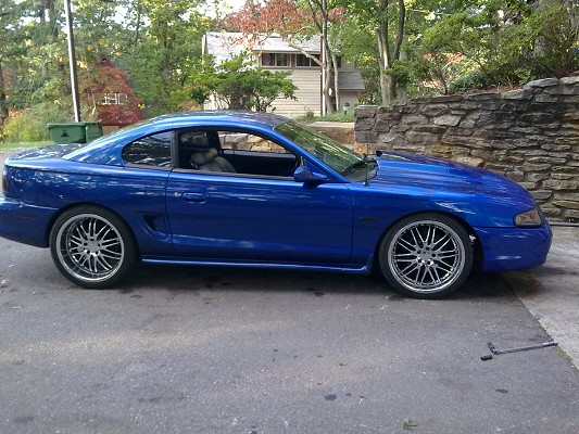 1998 Ford Mustang Gt On Staggered 20s 9 000 Possible