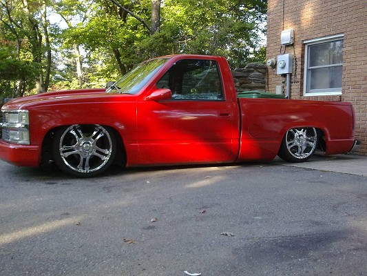 1995 Chevrolet Silverado Bagged On 20s 9 000 Possible