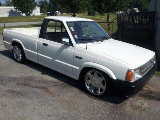 1986 Mazda Lowered B2000 $3,800 Possible Trade - 100503697 | Custom