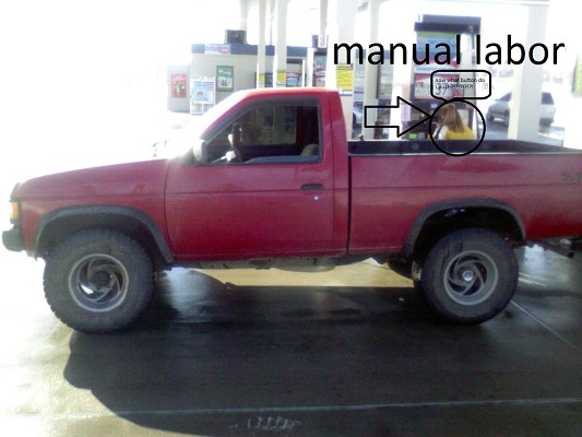 1991 Nissan d21 4x4 $1,100 - 100256394 | Custom Lifted Truck ...