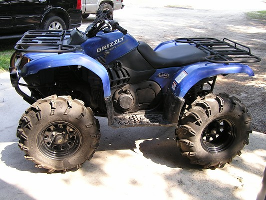 Yamaha Grizzly  Blue Book
