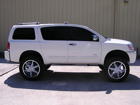 2007 Nissan Armada 28 000 Firm 100117643 Custom