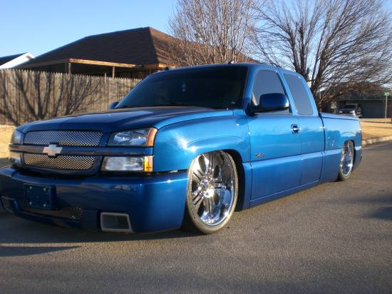 2004 chevrolet silverado ss 23 000 100146822 custom. Black Bedroom Furniture Sets. Home Design Ideas