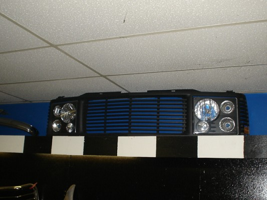 88 98 chevy ck suburban tahoe range rover grill 400 100318422