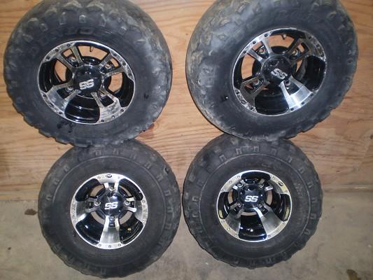 Nice Itp Ss Wheels For Honda 4 Wheeler 250 Or Best Offer
