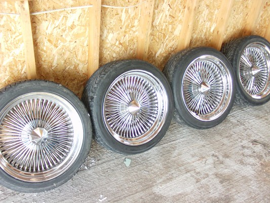 18 Quot Dayton Wire Wheels And Tires 500 Possible Trade