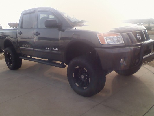 2011 nissan titan pro 4x 55 000 possible trade 100357110 custom lifted truck classifieds. Black Bedroom Furniture Sets. Home Design Ideas