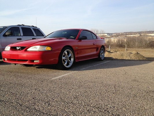 1998 ford mustang gt 5 500 possible trade 100561832. Black Bedroom Furniture Sets. Home Design Ideas