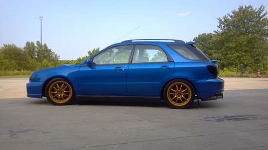Subaru Impreza WRX STi Wagon 2003 for GTA San Andreas |2003 Impreza Wrx Wagon Stanced