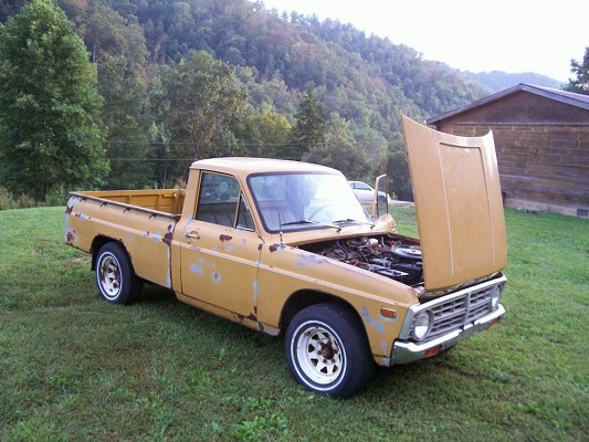 1975 ford courier 1 possible trade 100605534 custom mini truck classifieds mini truck sales. Black Bedroom Furniture Sets. Home Design Ideas