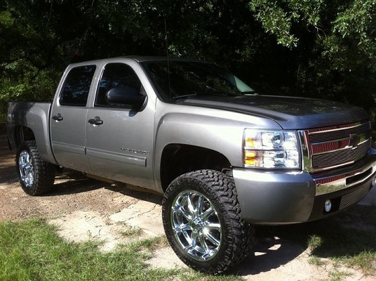 2009 Chevrolet Silverado 25 000 Firm 100413938 Custom Lifted