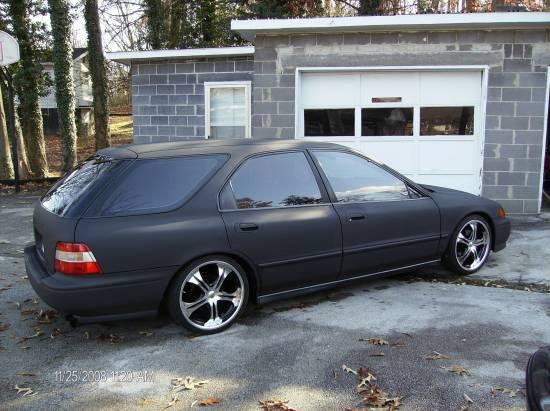 on 1994 Honda Accord Exhaust