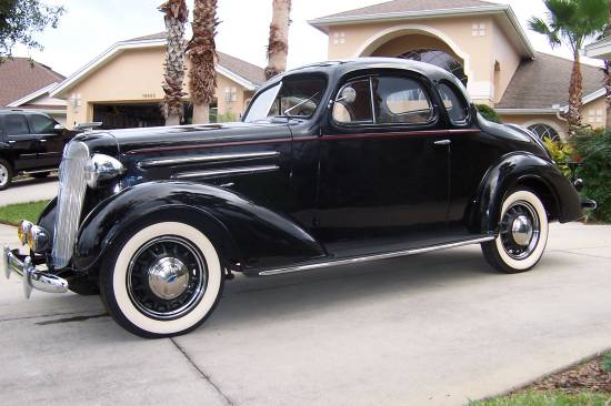 1936 Chevrolet 5-Window Master Deluxe Coupe $24,250 Or ...